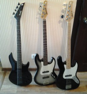 Бас гитары за полцены