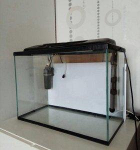Готовый аквариум 40 литров + оборудование