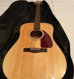 "Гитара ""Fender acoustics cd140s NAT """