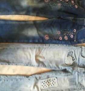 джинсы для девочек.