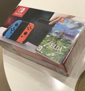 Nintendo switch + legend of Zelda