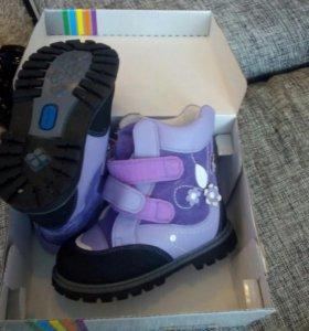 Новые ортопедия зима ботинки