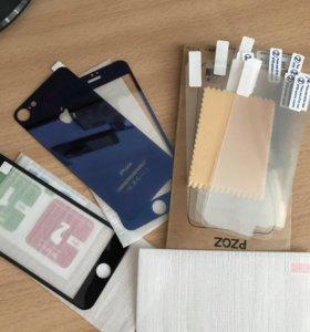 Защитные пленки и стекла на iphone 7