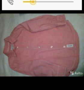 Продаю рубашку фирма hm 98 рост