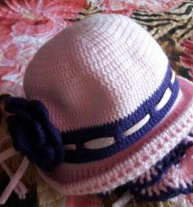 Продам шляпку с шарфиком