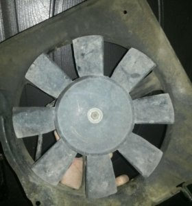 Вентилятор 8 лопастей на ваз 2108 в сборе