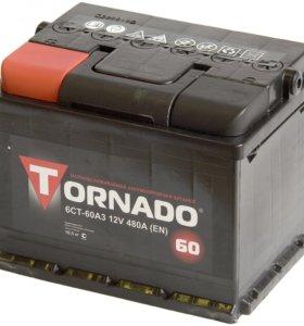 Аккумулятор Tornado 60 Аh 480 A