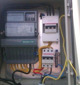Подключение электричества на участок 15000