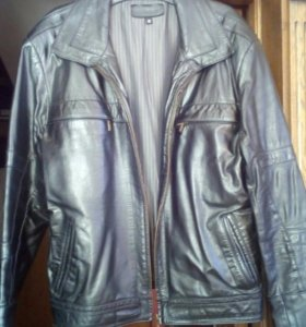 Куртка муж.кожаная новая