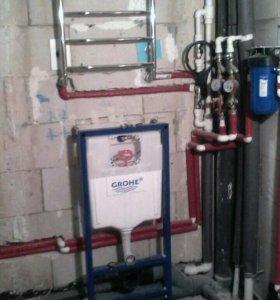 Водопровод отопление в новостройках