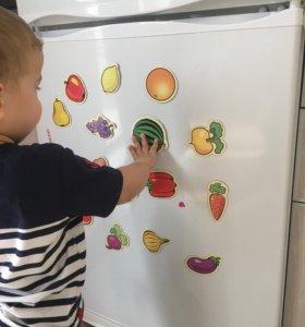 Магниты на холодильник из картона