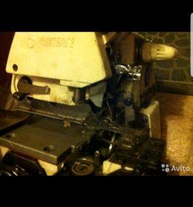 Стачивающе-обметочная швейная машина Gemsy GEM 757