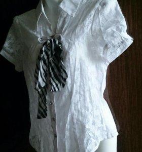 Новая блузка с коротким рукавом (44)