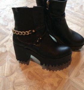 Ботинки Зима Новые‼️