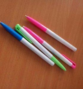 Ручки синие