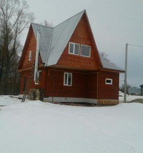 Дом новый из бруса деревянный