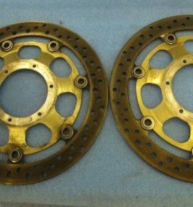Передние тормозные диски Honda VTR1000 SP2(02-06)