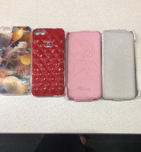 Набор чехлов для айфон 5 (4 шт)