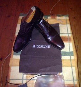 Туфли мужские Италия новые