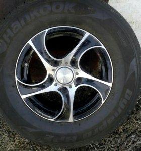 Продам комлект колес лето.