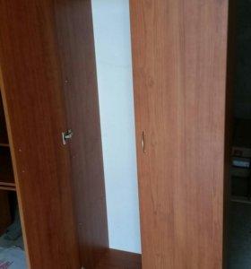 Шкаф двухстворчатый. (Ольха.горская)