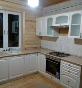 Кухня Верона Ясень Золото 5,5м