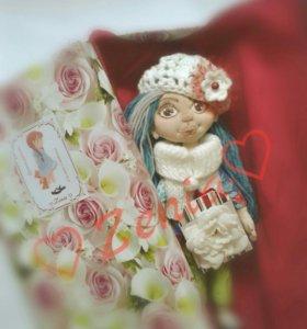 Текстильная кукла Софи