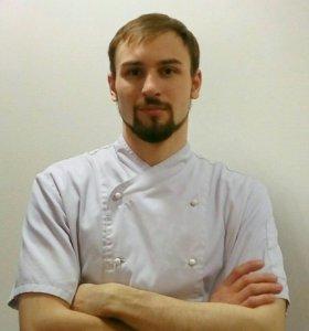 Ведущий мастер - классов, кейтеринг, повар