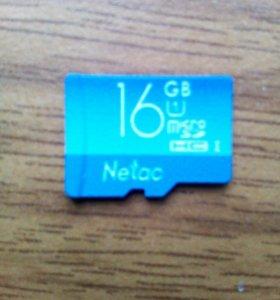 Память 16 гБ microSD