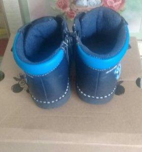 Весенние -осенние сапоги 20 размера для мальчика