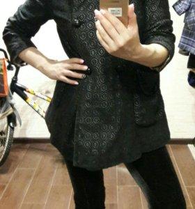 Кружевное пальто-пиджак, р.42