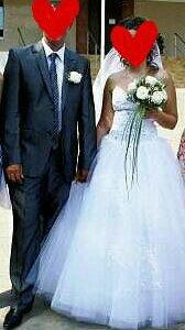 Свадебный костюм и свадебное платье