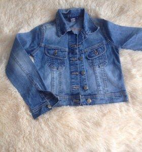 Куртка джинс 10-12 л