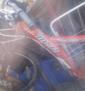Велосипед mtr 18 скоростей
