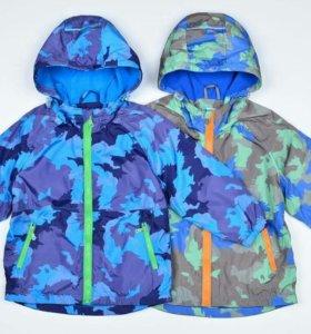Курточка в синем цвете(новая)