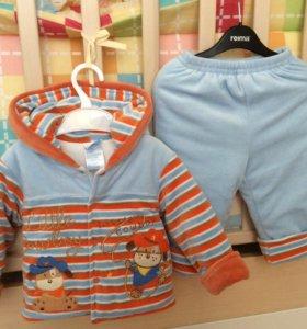 Костюм куртка и штанишки размер 74-80