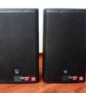 Активные Electro-Voice ELX-112P с чехлами