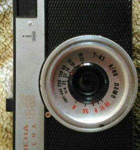 Фотоаппарат Смена 8м с чехлом и вспышкой