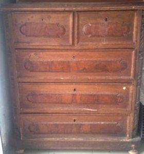 Старинный комод 19 века