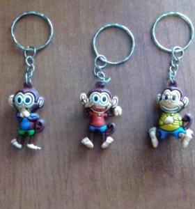 Брелоки обезьянки