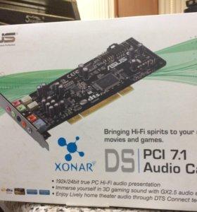 Звуковая карта PCI ASUS XONAR DS 7.1