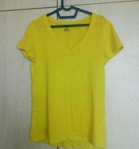 Футболка SELA perfect fit/ yellow