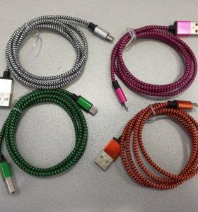 Шнур зарядный microusb 1метр