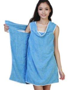 Халат- полотенце.