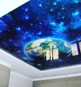 Печать на потолке