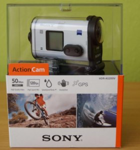 Экшн камера Sony HDR-AS200V