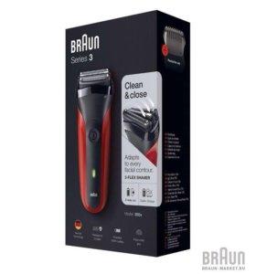 Новая электробритва Braun s300 red