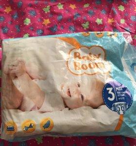 Подгузники Baby Boom 3 (4-9 кг)