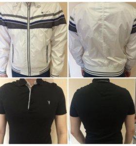Мужская одежда б/у и новая