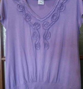 Блуза размер 52-54-56